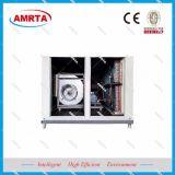 O condicionador de ar para o telhado instala