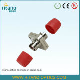 Adaptador óptico de fibra para el adaptador sólido cuadrado del cable óptico de FC Metail