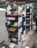 Máquina de impressão de Flexo com cor 6 fria da folha 4+2