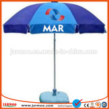 Guarda-chuva de praia de dobramento com os tamanhos diferentes disponíveis