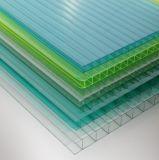 プラスチック押出機はプロフィールのTiwn壁のポリカーボネートの空シートを製造する