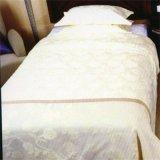 Katoenen 300tc 100% van het Hotel van de Luxe van de Grootte van de koning de Witte Reeks van het Beddegoed