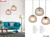一義的で新しいデザイン現代簡単なガラスシャンデリアのペンダント灯