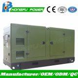 50Hz 180kVA de geração de energia com canópia silenciosa do conjunto de geradores diesel