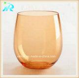 Vidrio de vino sin pie del plástico al por mayor del partido que contellea
