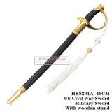 ヨーロッパの短剣の歴史的短剣の指揮剣のホーム装飾46cm HK8291A