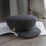 Для Red Hat Militiary серого цвета шерсти с логотипом деловых обедов и дизайн