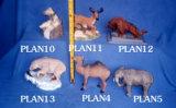 La serie de animales