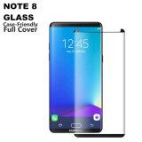 Протектор экрана Tempered стекла полного покрытия случая содружественный изогнутый 3D для  Примечание 8&#160 галактики Samsung;