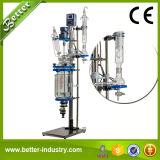 生物反応炉のJacketedガラスリアクター