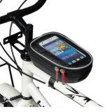 درّاجة أنابيب أماميّة ذكيّة هاتف حقيبة, مسيكة درّاجة جبهة أعلى إطار درّاجة حقيبة لأنّ هاتف حالة