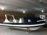 Liya 20feet Fiberglas-Rumpf-steifes aufblasbares Boot Hypalon aufblasbares Rippen-Boot