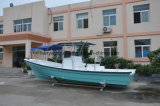 Usine de bateau de fibre de verre de bateau de pêche de bateau de Panga de Liya 25feet
