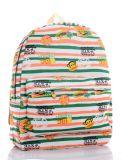 Imprimé floral sac à dos, de style cartoon Cute série collège de sac à dos Sac de loisirs du vent
