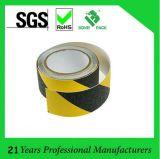 """Cinta anti impermeable 2 """" *60FT del piso resbaladizo de Black&Yellow no del patín de la cinta auta-adhesivo del apretón"""