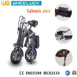 36V bici eléctrica del mini plegamiento superventas de 12 pulgadas
