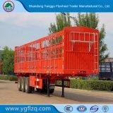 良質または価格の馬かウシまたは牛または牛またはヒツジまたはブタの輸送の塀または棒の半トレーラー