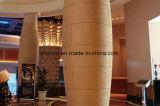 Baldosa cerámica del revestimiento ignífugo de la pared hecha de la arcilla modificada