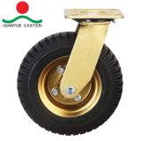 Rotella di gomma pneumatica resistente della macchina per colata continua