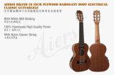 28 тело прокатанное дюймами Mahogany Electrcial 6-String Guitarlele