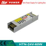 60W 2.5A 24V dimagriscono il driver del LED con la funzione di PWM