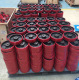 Handladeplatten-LKW mit Nylonrad PU-Rad/Gummirad