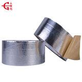 China la fabricación de muestras gratis de acrílico Sliver cintas autoadhesivas de papel de aluminio