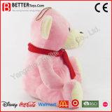 아이를 위한 최고 연약한 장난감 곰 박제 동물 견면 벨벳 장난감