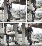 Das calças ocasionais ao ar livre do desgaste do viajante de bilhete mensal da cidade da cor de Tan calças táticas