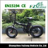 350W 20inch 뚱뚱한 타이어 바닷가 함 전기 뚱뚱한 자전거