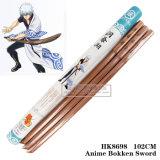 Arte marcial chinesa de espadas de madeira 102 cm HK8698