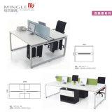 L'aluminium et personne Malemine 4 station de travail de bureau avec chaise