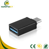 Chapado en oro de los datos personalizados de HDMI a VGA Adaptador convertidor de cable de alimentación