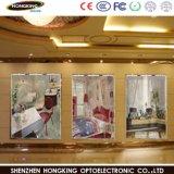 Для использования внутри помещений P2.5 светодиодный экран входа с цветной лампы