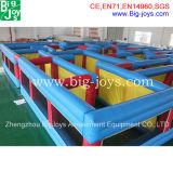 1.8Mh Obstacle gonflables pour enfants et adultes, Labyrinthe gonflable