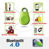 Intelligenter Bluetooth Verfolger GPS-Feststeller-Marken-Warnungs-Mappen-Schlüssel-Haustier-Hundeverfolger