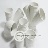 Tubi termoresistenti bianchi del PVC