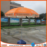 Liberar el paraguas promocional del parasol de la impresión de seda del diseño