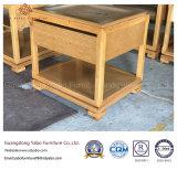 Bons meubles d'hôtel de modèle avec la table de nuit en bois Nightstand (YB-AE-2)
