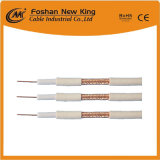 Fabricante de China 75 ohmios RG59 Cable coaxial para TV Cable Cable vigilancia
