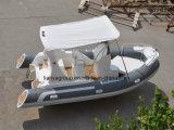 Liya 5.8m het Vissersvaartuig van de Boot van de Rib van de Vissersboot van de Glasvezel