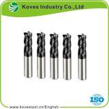 carboneto de tungsténio sólido fim Mill tipos de fresa para fabricante de aço