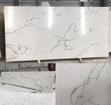 Résine alkyde quartz haut de la vanité de pierre artificielle