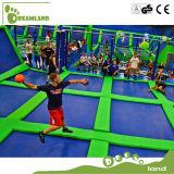Dodgeball popular se divierte el parque del trampolín para los adultos
