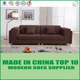 Sofà sezionale classico della mobilia del salone del tessuto di Upholsted