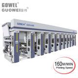 Machine d'impression commandée par ordinateur de gravure de 8 couleurs de Gwasy-a avec 150m/Min
