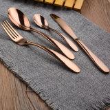Комплект Cutlery нержавеющей стали Европ Tableware Lod бога нержавеющей стали Silve фиоритуры установленный