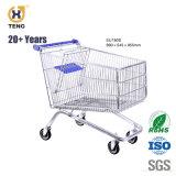 Ue180d o Metal Grande Capacidade 180L Carrinho de Compras de supermercado, a Europa Style