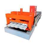 高品質Kxd 828は販売のための機械を形作るタイルロールを艶をかけた