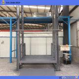 Rail de guidage hydraulique 3tonne de fret de l'entrepôt d'Ascenseur